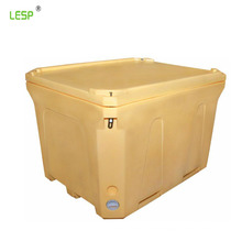 M3804 LLDPE 1000Lfish storage box with CE Certificate