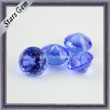 Низкая цена Круглый срез MID Violet Очаровательное хрустальное стекло