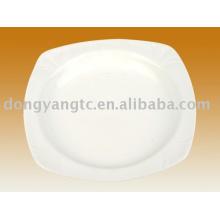 Placas de jantar a granel de porcelana de 12 polegadas