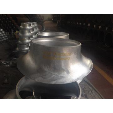 Montaje de tubería de sillín de acero inoxidable