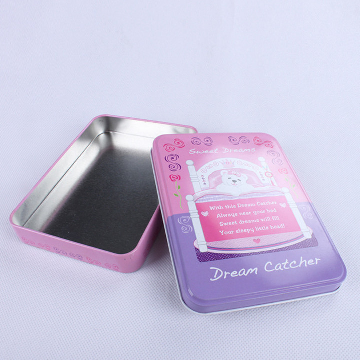 Metal Tinplate Materiale Kosmetik Mascara Tin Boxes