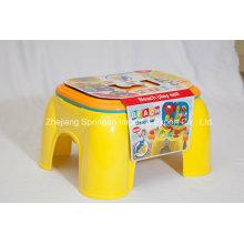 Brinquedo de jogo de banquinho para a série da praia