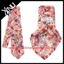 Exklusive Paisley-Sieben-Falten-Krawatte