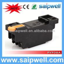 PYF08A / MY2 8-контактный релейный базовый разъем питания реле и розетка