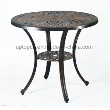 Antique Metal Pattern Cafe Restaurant Table for Outdoor (SP-AT386)