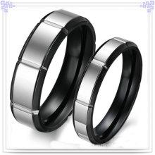 Joyería de la manera Anillo de dedo de la joyería del acero inoxidable (SR527)