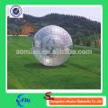 Bola humana gigante del hamster de la bola del cuerpo de la bola del zorb de la hierba de la alta calidad TPU para la venta