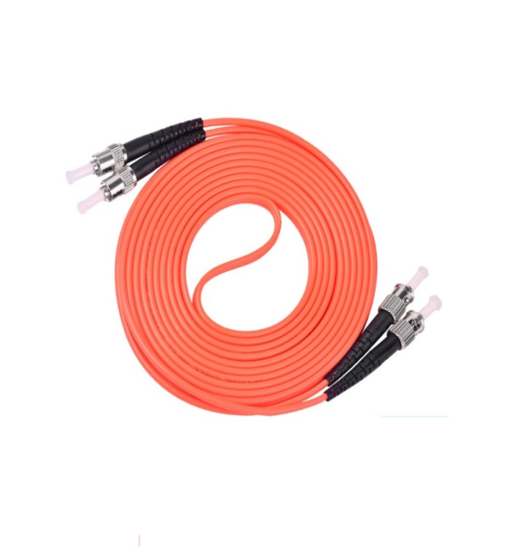 ST إلى ST OM4 Duplex Patch Cord