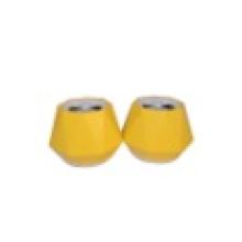 Der Lautsprecher mit gelber Shell USB 120cm White Line