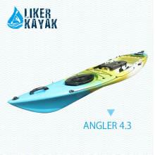 Fish Finder, Bequemer Sitz & Trolley 2in1, Angeln Kajak Carrier