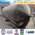 D=1.5m, L=10m ISO 9001 Inflatable Marine Ship Launching Rubber Airbag