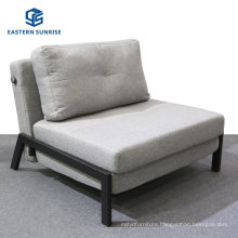 Fashion Simple Room Furniture Fabric Sofa Bed Folding Daybed