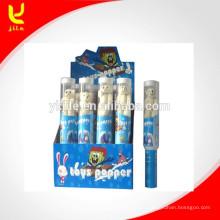 Poppers Toy Party dans Grenade Transparence Tube avec filet de sécurité