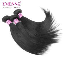 Preço barato em linha reta indiano remy cabelo humano