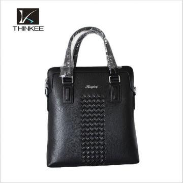 новое прибытие мужская кожа сумка сумка кожаная бизнес сумка