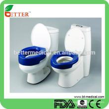 Dobradiças de assento de vaso sanitário fáceis de usar e confortáveis e suaves