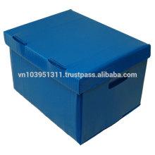 Corrugated PP plastic box