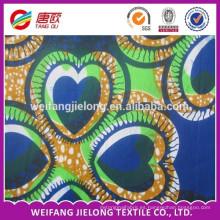 Mejor precio 100% algodón tela de cera real africana
