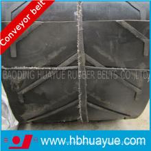Ep / Nn Cc Chevron Pattern Conveyor Belt Handling Material