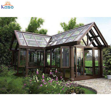 Kavisli Alüminyum Sunroom Windows Sunrooms Veranda Muhafazaları