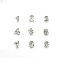 Maßgeschneiderte Metall-Logo-Anhänger, Diamant-Anhänger, Diamante-Anhänger