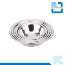 Stainless Steel Thicken Soup Bowl & Salad Bowl