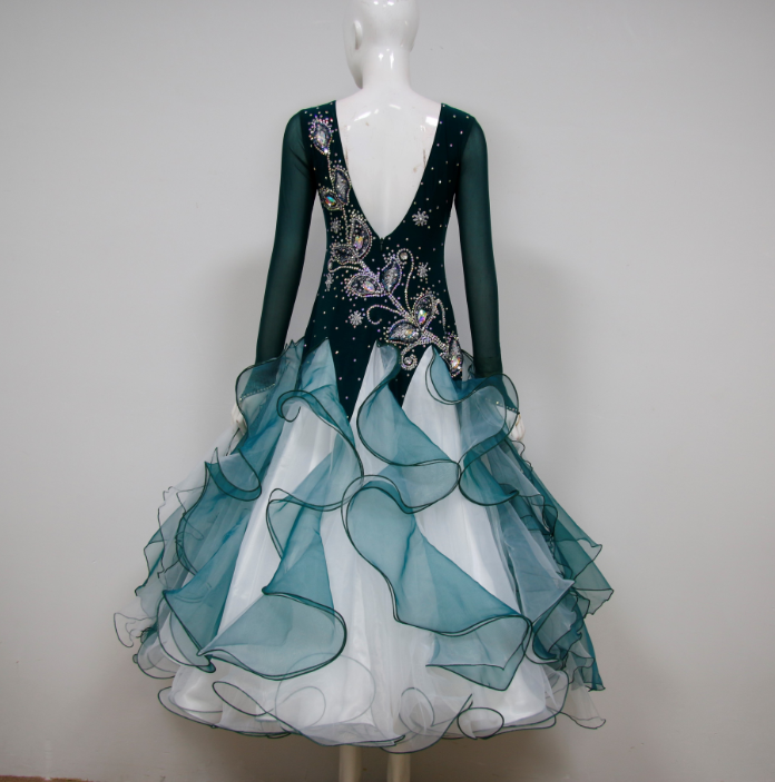 Dance Costumes Competition With Applique