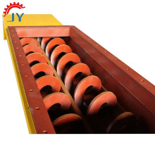 Shaftless auger screw conveyor machine