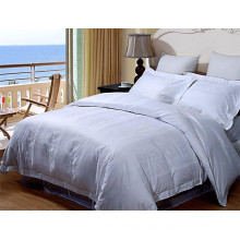 2016 hot sale cotton plain dyed hotel ues duvet cover