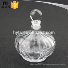 230ml leeres Aroma Reed Diffusor Glasflasche mit Glaskappe