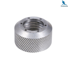 CNC Machining Knurled Internal Threaded Cap Nut