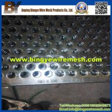 Métal perforé en acier inoxydable utilisé dans les équipements de chauffage