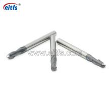 Standard HRC45 2 Flutes Carbide Ball Nose End Mill CNC Cutting Tools