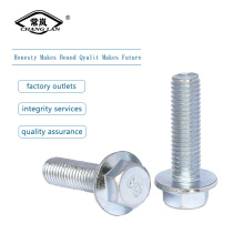 Inch steel Hex flange screws