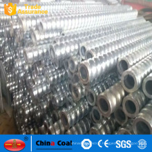 Galvanized hollow anchor for Roadway support