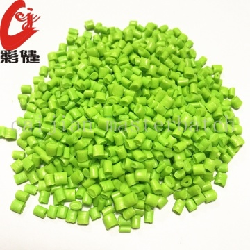 Green Color Masterbatch Granules