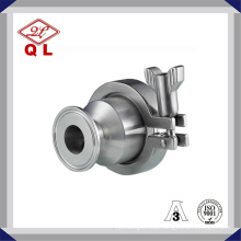 Stainless Steel Sanitary Non Return Clamped Check Valve