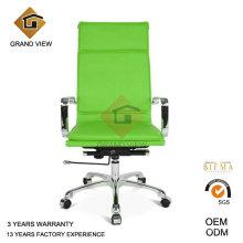 Chaise de réunion d'ordinateur en cuir vert (GV-OC-H305)