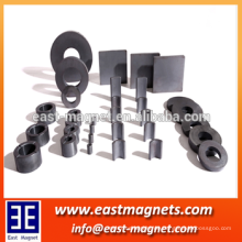 Porzellan fertigen besonders an Weit verbreiteter Ferrit-Ring-Magnet / keramischer Rotormagnet