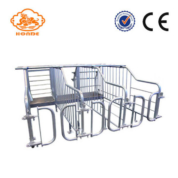 Customized Tube Galtrized Gestation Crates Untuk Babi