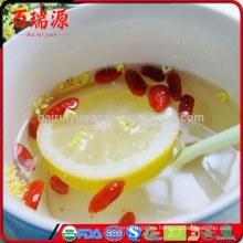 El jugo de Goji beneficia el extracto de la baya de goji lo que es una baya de goji