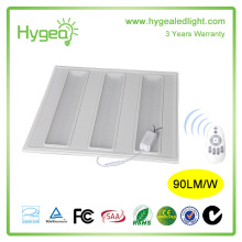 Meanwell driver 30w 36W 45W led grille panel light 620x620/ led grid led panel light with best price