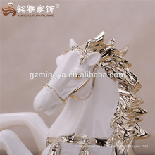 Home horse ornament for wholesale office ornament horse resin craft resin sculpture
