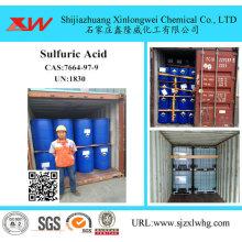 Schwefelsäure 98 für Zuckerraffinerie