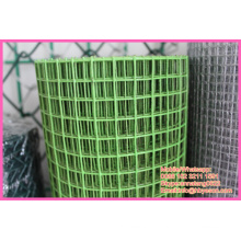 """Anping factory 3/4"""" square PVC Coating hardware fabric Welded Wire Mesh"""