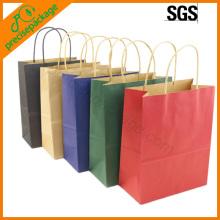 bolso de papel del eco diversos colores (PRP-15008)