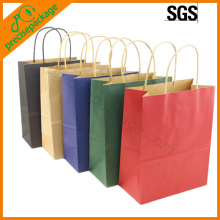 eco different colors paper carrier bag(PRP-15008)