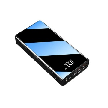 Power Bank portatile da 40000 mAh con schermo