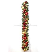 Einkaufszentrum Weihnachten Neuheit Produkt Kugeln Girlande
