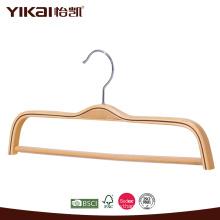 Wholesale flat shirt laminated clothes hanger